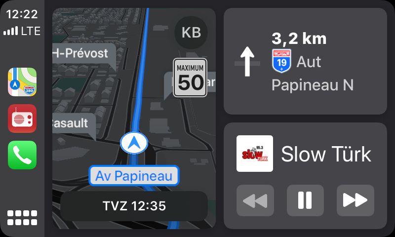 ios 13 Carplay ( New Design )